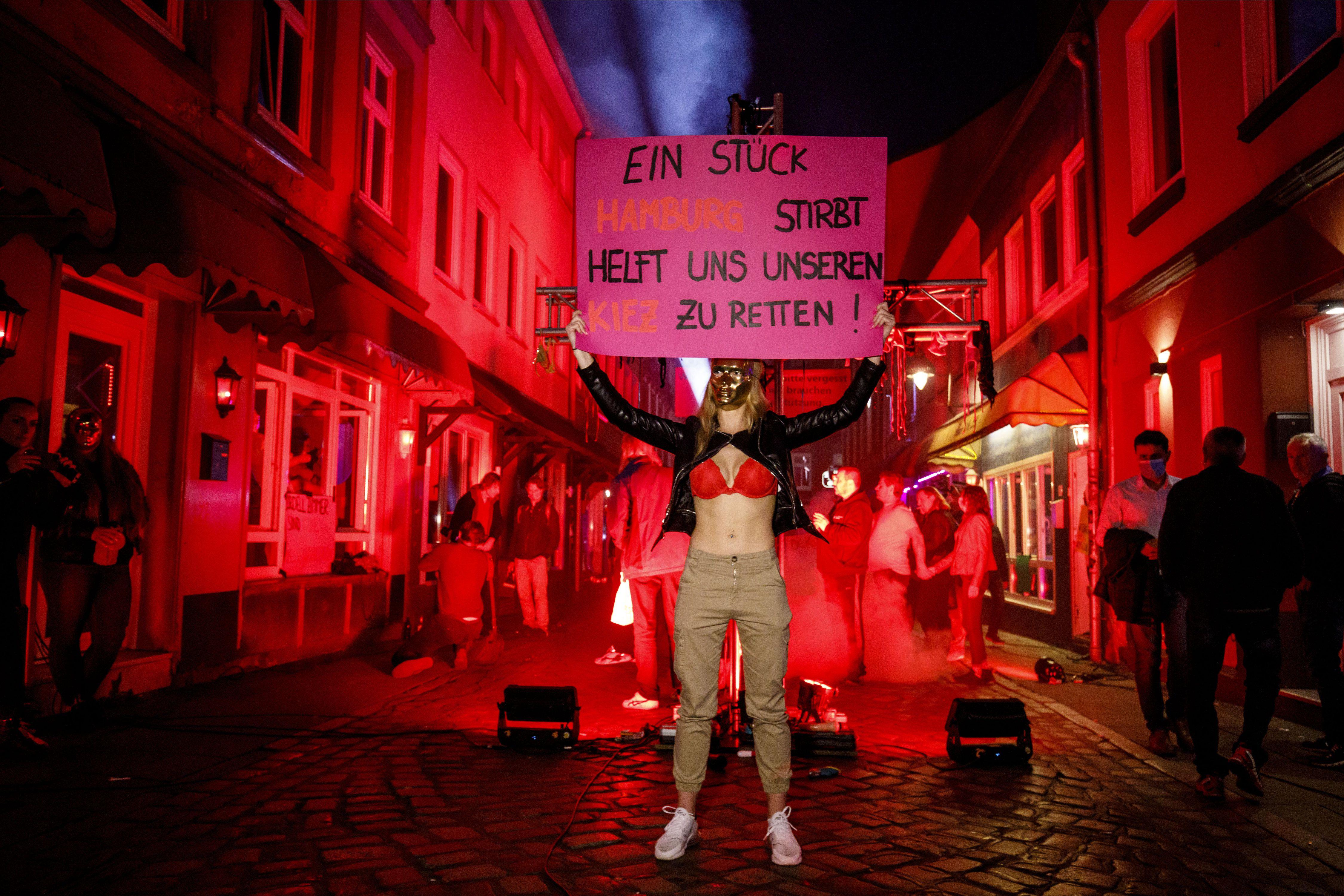 Hamburg: Prostituierte fordern Wiedereröffnung von