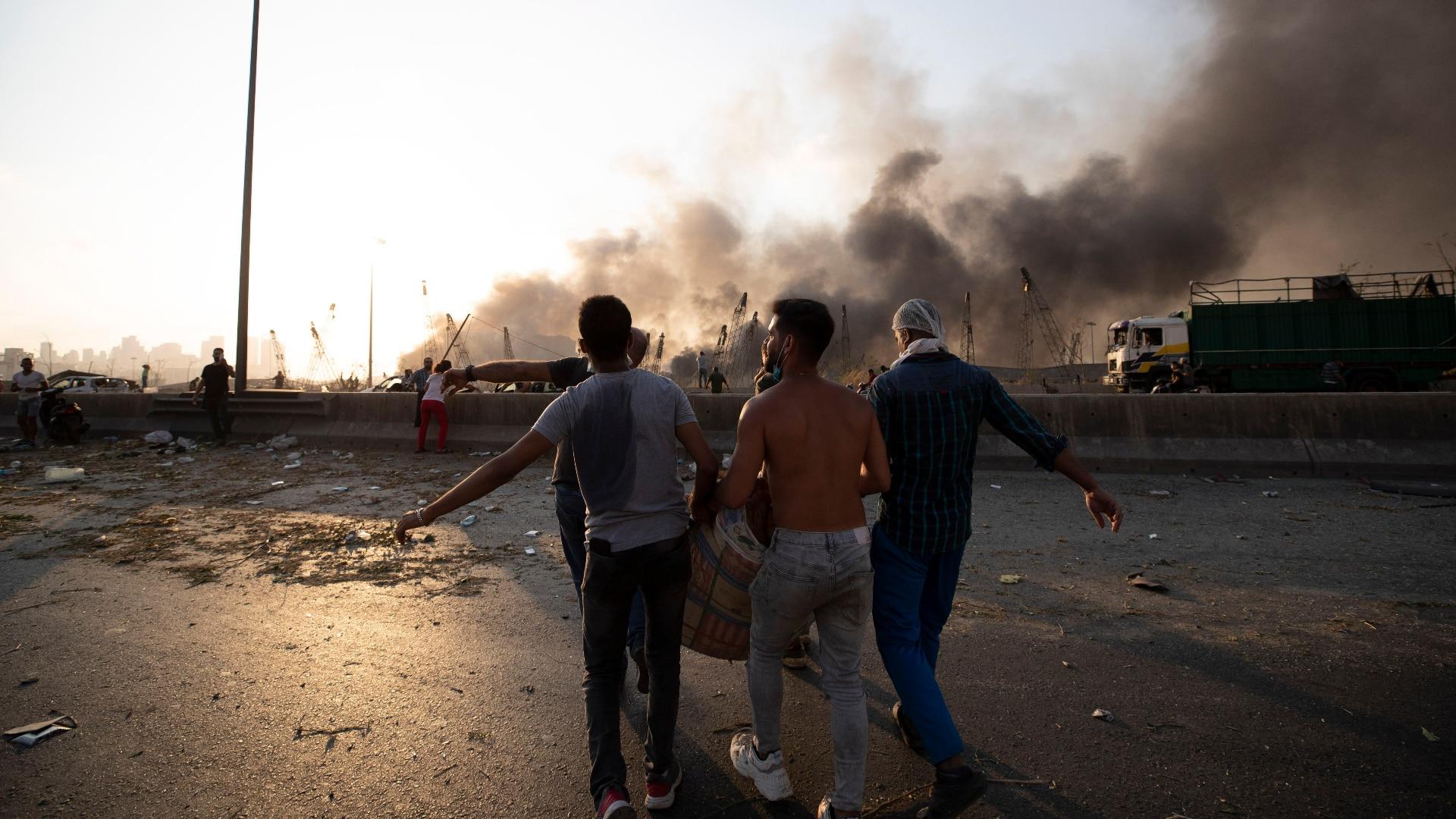 Libanon bittet Ausland um Hilfe – EU schickt mehr als 100 Katastrophenhelfer