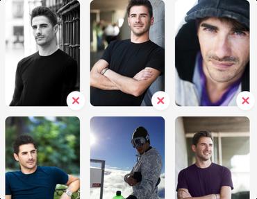 Tinder profilbild mann