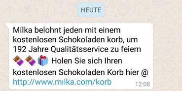 Whatsapp liebes kettenbrief