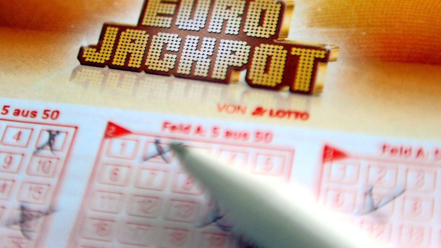 wann werden die zahlen von eurojackpot gezogen